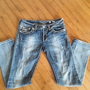 Miss Me skinny jeans 😃😃😃Size 30.